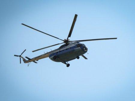 СМИ: Зажатые в салоне упавшего в ЯНАО вертолета погибли