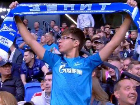 В интернете появилось видео реакции чеченских болельщиков на оголивших торсы фанатов «Зенита»