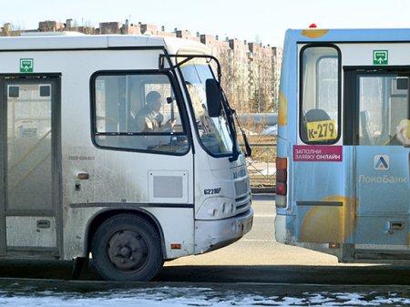 В Петербурге на неделю отменили более ста маршрутных направлений