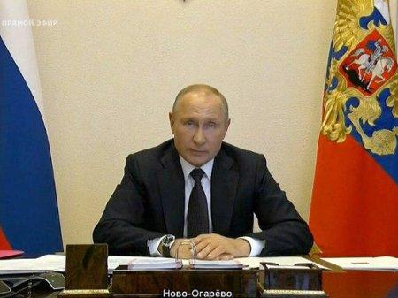 Путин поручил запустить базовые отрасли экономики, списать налоги и посулил выплаты всем семьям с детьми