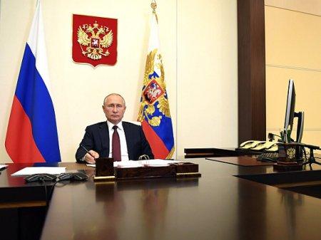 Путин на совещании по паводкам и пожарам швырнул ручку