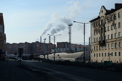 Загрязнение в Норильске превысило норму в десятки тысяч раз