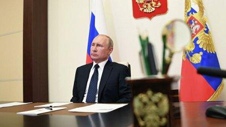 Путин констатировал восстановление экономики после выхода из карантинных ограничений
