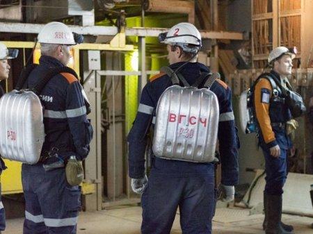 В Якутии произошел пожар на руднике «АЛРОСА»