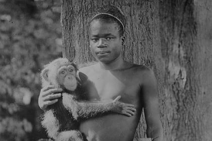 Нью-йоркский зоопарк извинился за чернокожего в вольере для обезьян