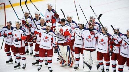 ЦСКА стал чемпионом России по хоккею