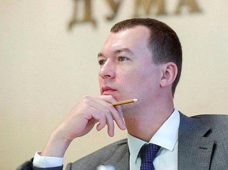 Дегтярев: На протестах в Хабаровске изъяли несколько ножей и топор