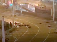 С первым погибшим на протестах в Белоруссии попрощались на коленях, на месте его гибели