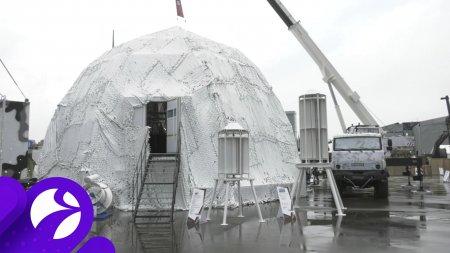 На форуме «АРМИЯ-2020» показали модель автономной арктической станции