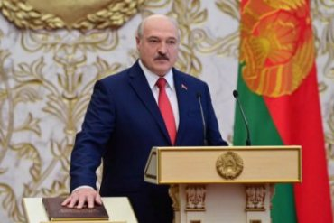 Украина не признает Лукашенко президентом Беларуси
