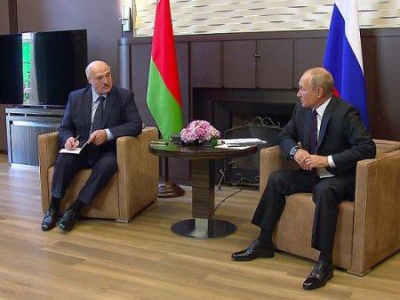 Путин и Лукашенко беседовали больше четырех часов