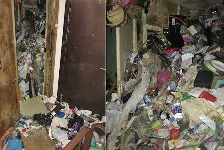 Тело мужчины нашли в петербургской квартире среди мусора