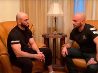 Боец Адам Яндиев заявил, что избил своего коллегу по заветам Путина