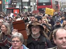 Лондонская полиция задержала агрессивных ковид-диссидентов