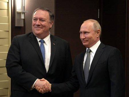 Помпео объяснил введение новых санкций против России реакций на деятельность враждебных «персов»