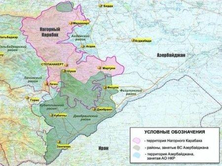 При подрыве автомобиля в Карабахе погибли пятеро азербайджанцев