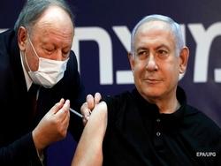 Нетаньяху первым в Израиле привился от COVID-19