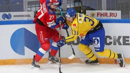 Сборная России победила шведов настарте Кубка Первого канала