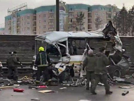 «Любитель быстрой езды»: Журналисты узнали о личности водителя грузовика, врезавшегося в военные автобусы