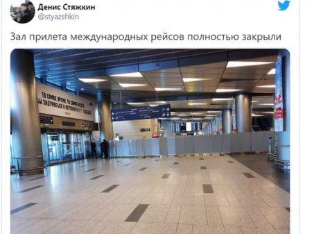 Зона прилета аэропорта «Внуково», где ждут Навального, полностью перекрыта
