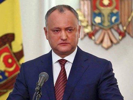 Россия оплачивает поездки Додона с семьей в Москву