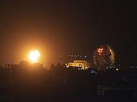 Израиль нанес удары по объектам ХАМАСа в Газе в ответ на ракетный обстрел. Список целей