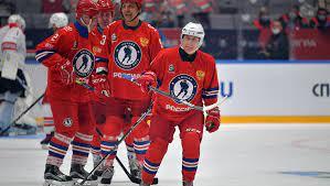 Команда Путина выиграла со счетом 13:9 в матче Ночной хоккейной лиги