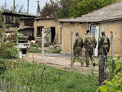 ФСБ заявила о ликвидации в ходе боя вооруженного мужчины под Симферополем