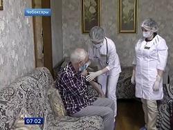 В российских регионах для маломобильных граждан организована вакцинация на дому