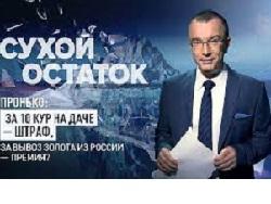 Пронько: За 10 кур на даче - штраф, за вывоз золота из России – премия? Видео