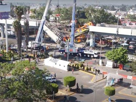 Televisa: Власти Мехико полагают, что причиной обрушения метромоста стал дефект конструкции