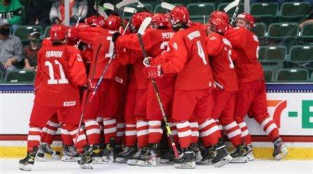 Блестящая победа: молодёжная сборная России по хоккею вышла в финал ЧМ