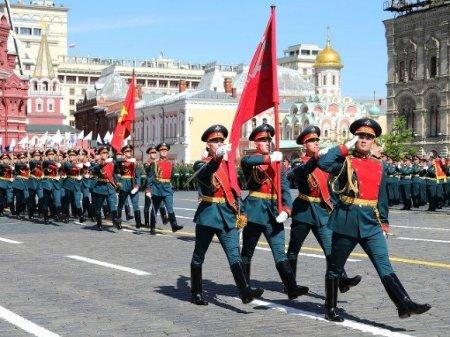 На Красной площади в Москве начался парад в День Победы (видео)