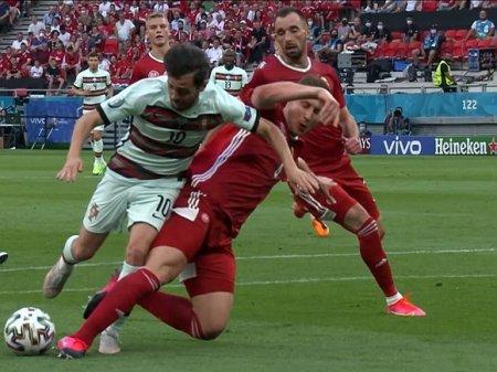 «Дурацкий» гол и Криштиану Роналду позволили Португалии крупно обыграть Венгрию на ЧЕ-2020