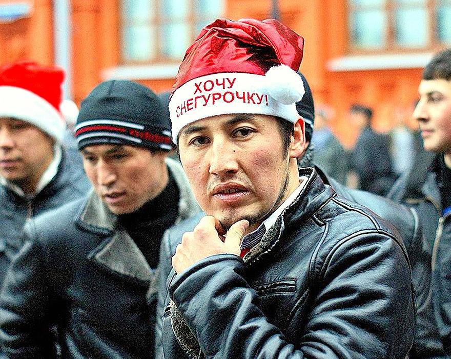 метро Москвы конфликт с мигрантами в Москве