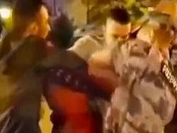 Конфликт чеченцев с росгвардейцами попал на видео