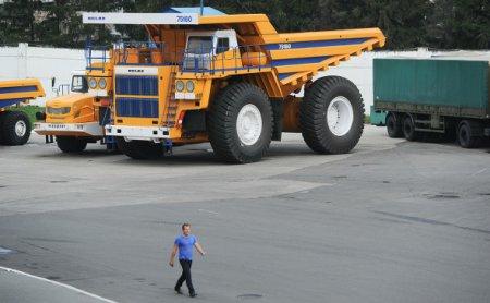 Rolls-Royce объяснил остановку работы с БелАЗом