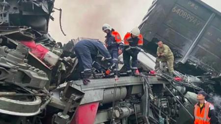 В Амурской области нашли четвертого погибшего при столкновении поездов