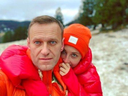 Навальный из тюрьмы поздравил жену с днем рождения (фото)