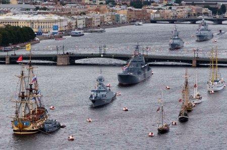 Сколько стоит военно-морской парад для одного зрителя?