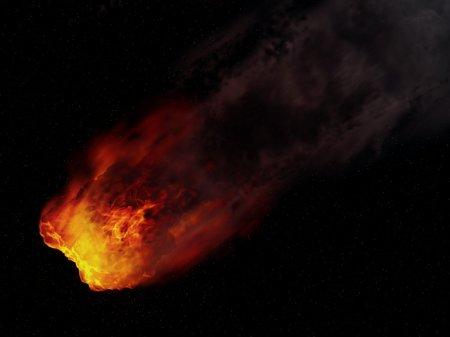 Над охваченной лесными пожарами Турцией взорвался метеорит (видео)