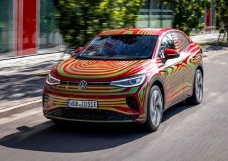 VW показал спортивный электрический кроссовер в стиле купе
