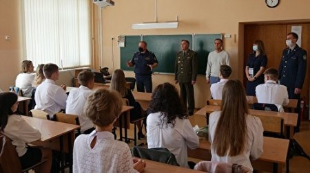 В Новосибирске открыли класс для будущих сотрудников ФСИН