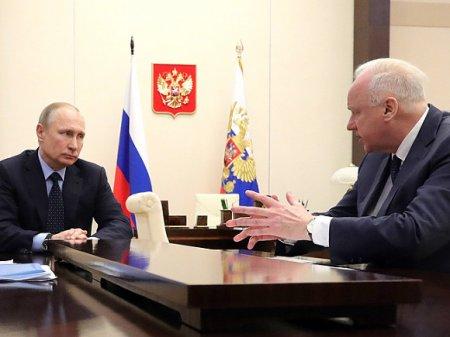 Лукашенко передал ждавшему его в Минске Бастрыкину «привет от начальника», имея в виду Путина (видео)