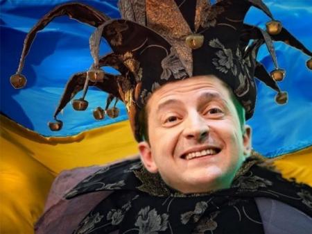 Украинцы выставили шутом Зеленского