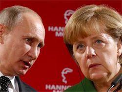 Путин сообщил Меркель о своих дальнейших планах по Украине