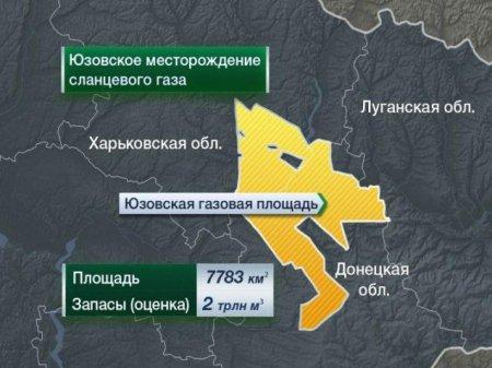 Кто и когда продал западным газовым компаниям Юго-Восток Украины
