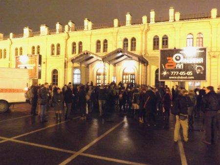 В Тамбове и Пскове прошла экстренная массовая эвакуация