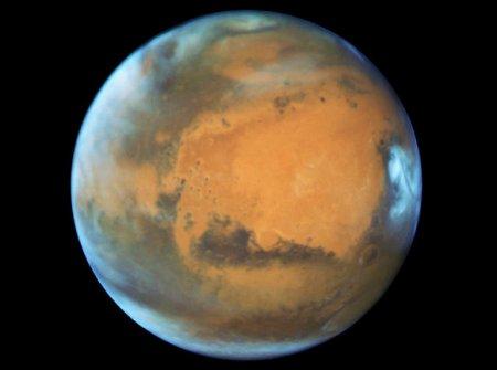 В NASA заметили на Марсе мощнейшее сияние