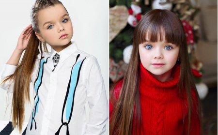 Новой самой красивой девочкой в мире объявлена шестилетняя россиянка